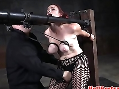 Tiedup submissive flogged report register breastbondage