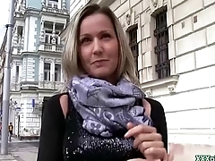Public PIckups - Czech Amateur Teen Fucks Outdoor For Money 09