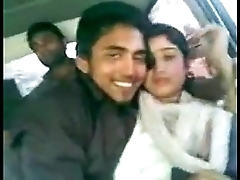 Indian Boy kissing Girlfriend in car    xxxbd25.sextgem.com