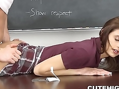 Pissed Off Coach Screws Horny Babe