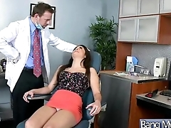 Hard Intercorse Between Doctor And Slut Horny Patient (nathalie monroe) vid-23
