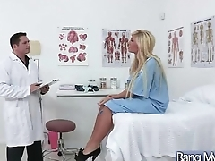 Hard Intercorse Between Dilute And Floozy Horny Patient (tasha reign) vid-29