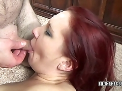 Curvy housewife Lia Shayde gets her mature twat stuffed