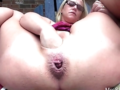 Poolside Pussy Dilation
