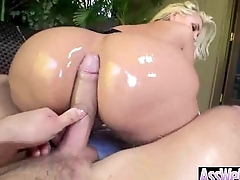 Anal Sex With Big Curvy Oiled Wet Butt Girl (alena croft) vid-04