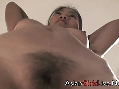 Filipina.Webcam Asian Cam Partition in Hotel Stripping shows tits ass pussy