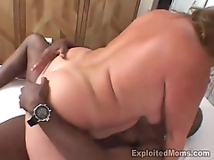 Chunky redhead gets slammed then creamed unconnected with hung guy BBW Video