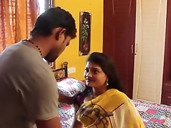 Indian Hot young teacher hot affaire de coeur with student fro home - Wowmoyback