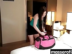 Young girl has session with horny homophile 7