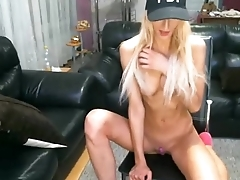 Blonde Skinny Thin Teen Ass on Cam - GirlTeenCams.com