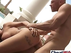 Horny Housewife (austin lynn) Love To Cheat In Hard Germane to Sex Tape movie-05