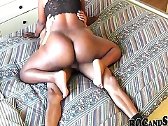 Deathly Girlfriend In Sexy Stockings !!