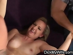 Slut wife cheats with two in front of hubby