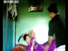 Indian Bangla townsperson bhabhi sex on touching devar at bedroom - Wowmoyback