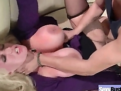 Busty Slut Housewife (alura jenson) Banged Hardcore On Tape movie-03
