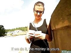 Public Pickups - Euro Teen Girl Suck Cock For Cash There Open Public 12