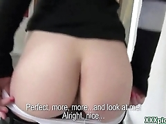 Public Pickup Czech Girl Fucks Fo Cash In The Street 16