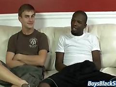 Blacks On Boys - Gay Bareback Hardcore Fuck Video 03