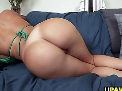 Big ass Julianna Vega knows how to around dick
