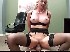 Office assistant shows her boss her flexibility 20