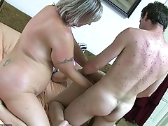 OldNanny Granny and mature masturbated queasy pussy