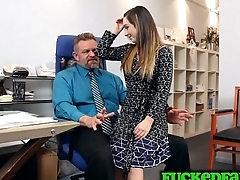 Hmm what can Bambi Brooks do to get stepdad to give her a fulltime job