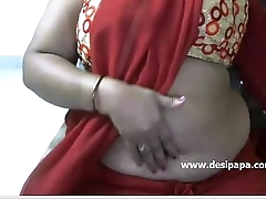 Hot indian aunty insert toy with in boobs on live cam show - DesiPapa.com
