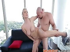 Pussy For Payment - Natalia Starr - TheRealWorkout