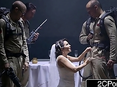 Sexy Bride Apparition Veronica Avluv Looking For a Little Wedding Night Bukkake